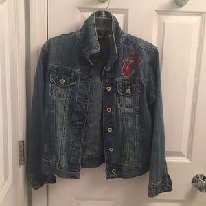 Rolling Stones jean jacket
